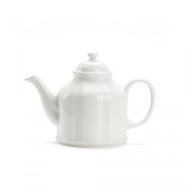 Porcelain teapot - CAMPAGNE 1.3 L - White