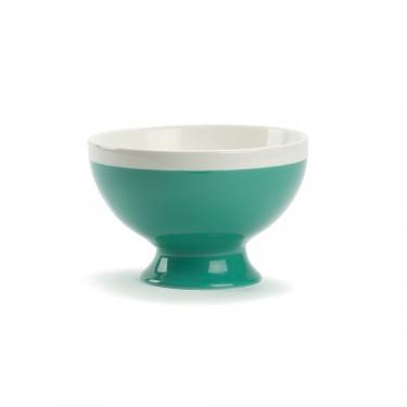 CAMPAGNE - Bol petit-déjeuner 35 CL - Vert et blanc