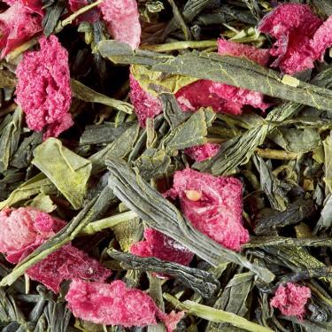 Green tea - Fraise Pistache