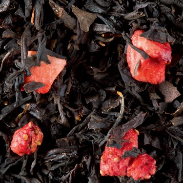 Black tea - Fraise Gariguette