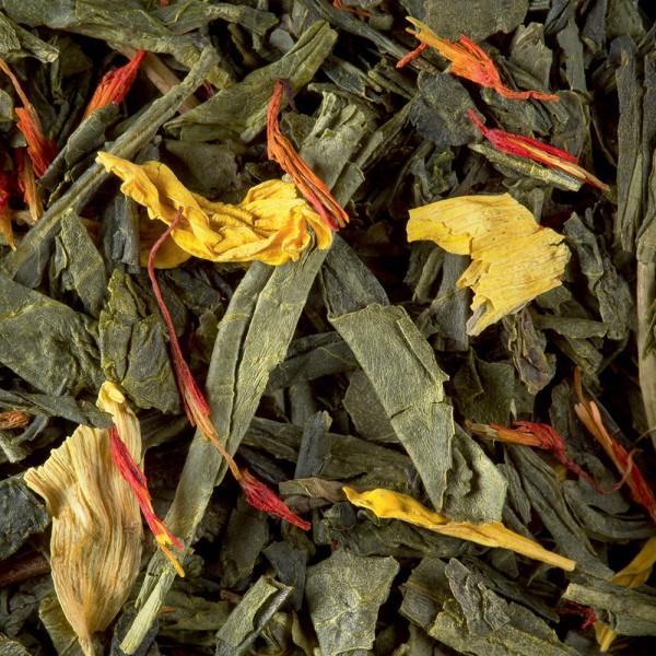 Green tea - Vanille / Amande