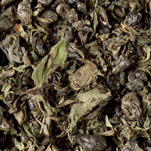 Green tea - Thé vert à la menthe