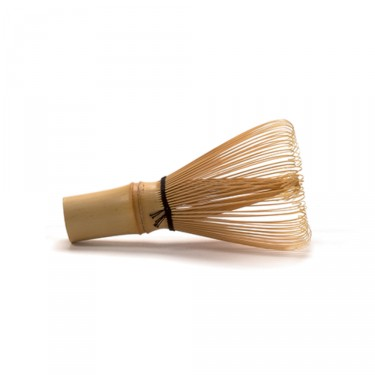 Chasen bamboo whisk with balck wire