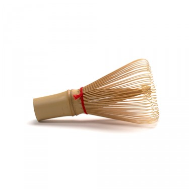 Chasen bamboo whisk with red wire