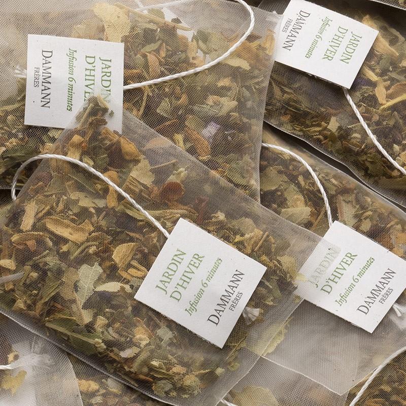 Jardin d 39 hiver box of 25 cristal sachets dammann fr res for Jardin d hiver