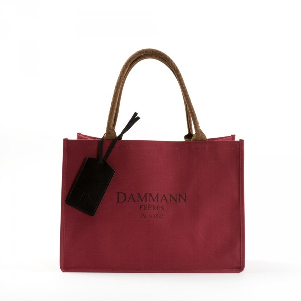 SHOPPING BAG DAMMANN - Red