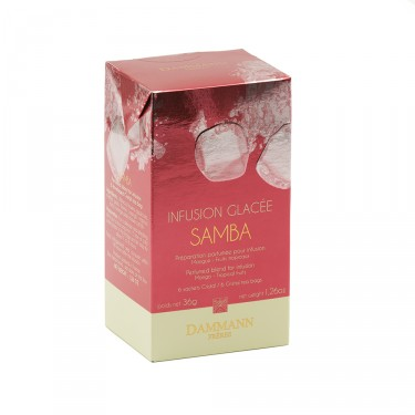 Infusion glacée Samba, Boîte de 6 sachets