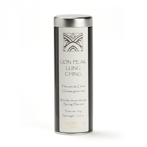 Thé de Chine - LUNG CHING LION PEAK - Boîte de 50g