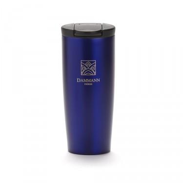 """""""NOMADE"""", mug de voyage isotherme, bleu"""