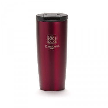 """NOMADE"", isothermal red travel mug"