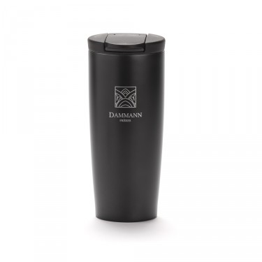 """NOMADE"", isothermal black travel mug"