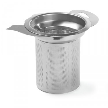'SILHOUETTE' – stainless-steel filter for teapot shape