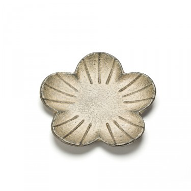 SAKURA, GOLD FLOWER SHAPED SAUCER