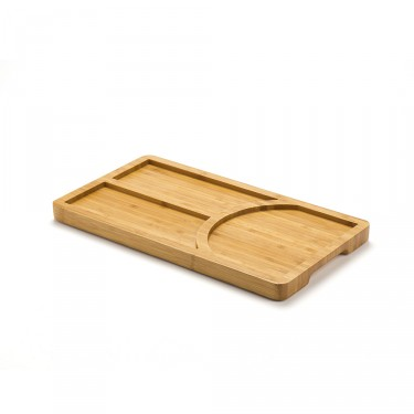 BAMBOO 3 COMPARTMENTS TRAY