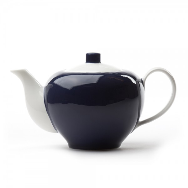 Five O'clock' porcelain teapot 1L - Blue