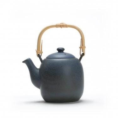 Théière porcelaine - Kyoto 0.6 L - GRIS BLEU