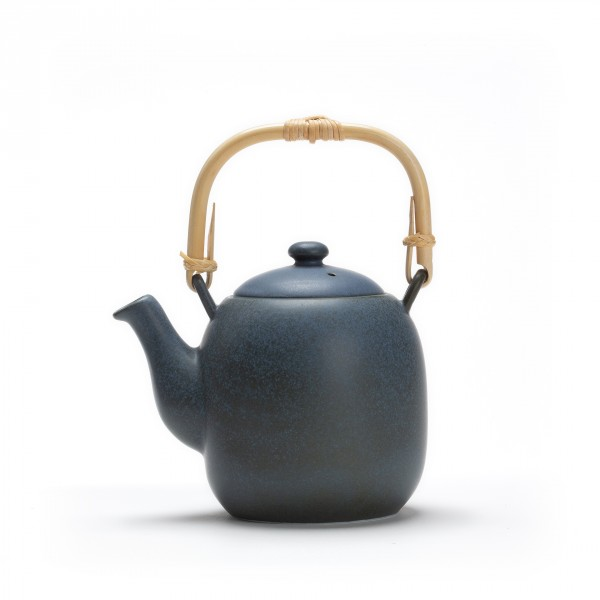 Porcelain teapot - Kyoto 0.6 L - Grey blue