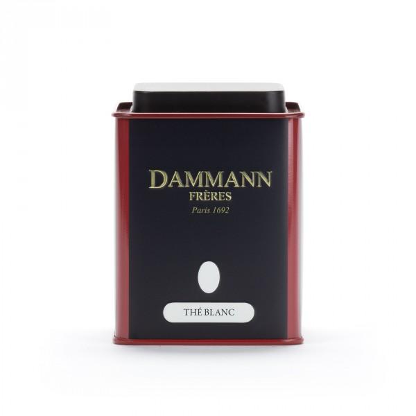 boîte vide Dammann - Thé blanc
