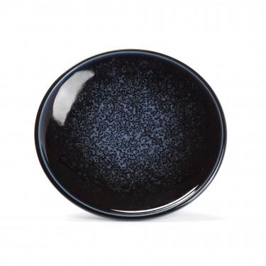 BLEU, sous-tasse porcelaine