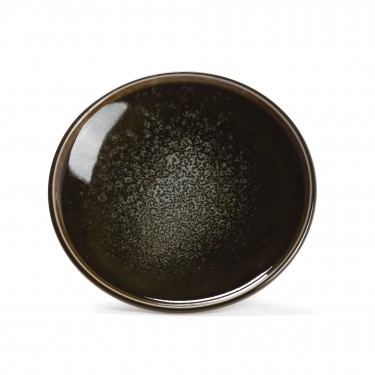 OLIVE, porcelain saucer