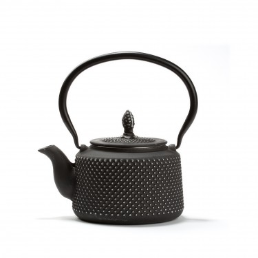 Chinese cast iron teapot - FIRMAMENT -  0.7L - Black