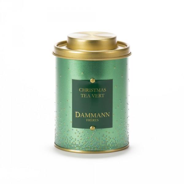 CHRISTMAS TEA VERT, BOÎTE 100G