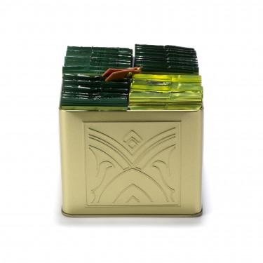 """""""CHARMES"""" gift set - 32 herbal tea bags holder"""