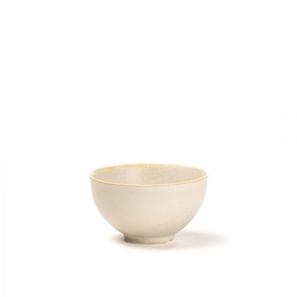 KYOTO - Japanese porcelain tea bowl - Ivory