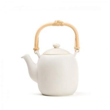 Porcelain teapot - Kyoto 0.6 L - IVOIRY