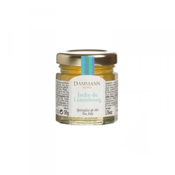 Jardin du Luxembourg' tea jelly in mini jar