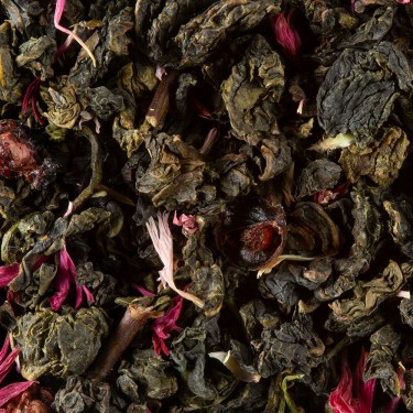 Oolong tea - OOLONG FRUITS ROUGES