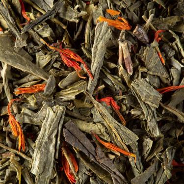 Green tea - Macaron cassis Violette