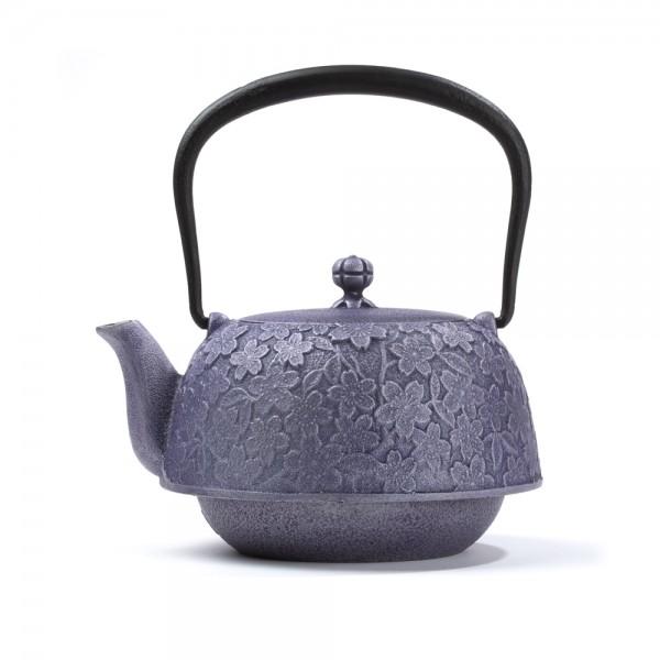 Théière Fonte du Japon - Hanami 1,2L - Violette