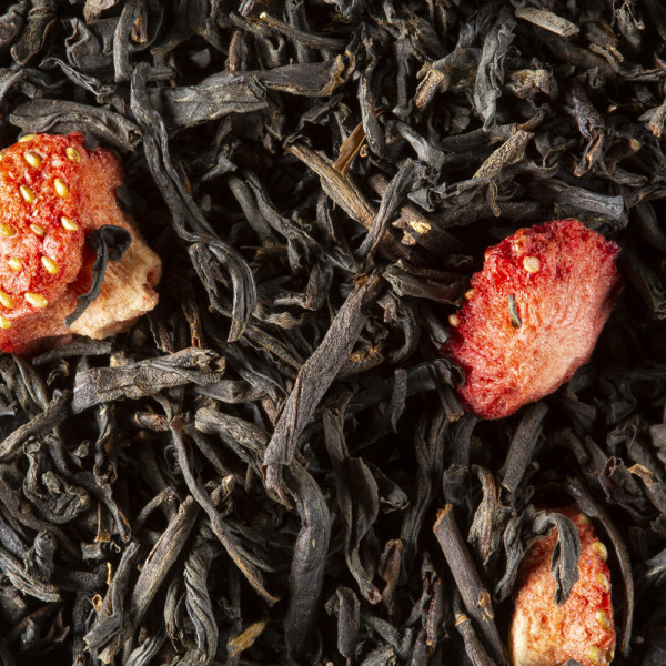 Black tea - Charlotte aux Fruits rouges