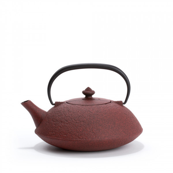 Japanese cast iron teapot - MUJI 0,65L - red