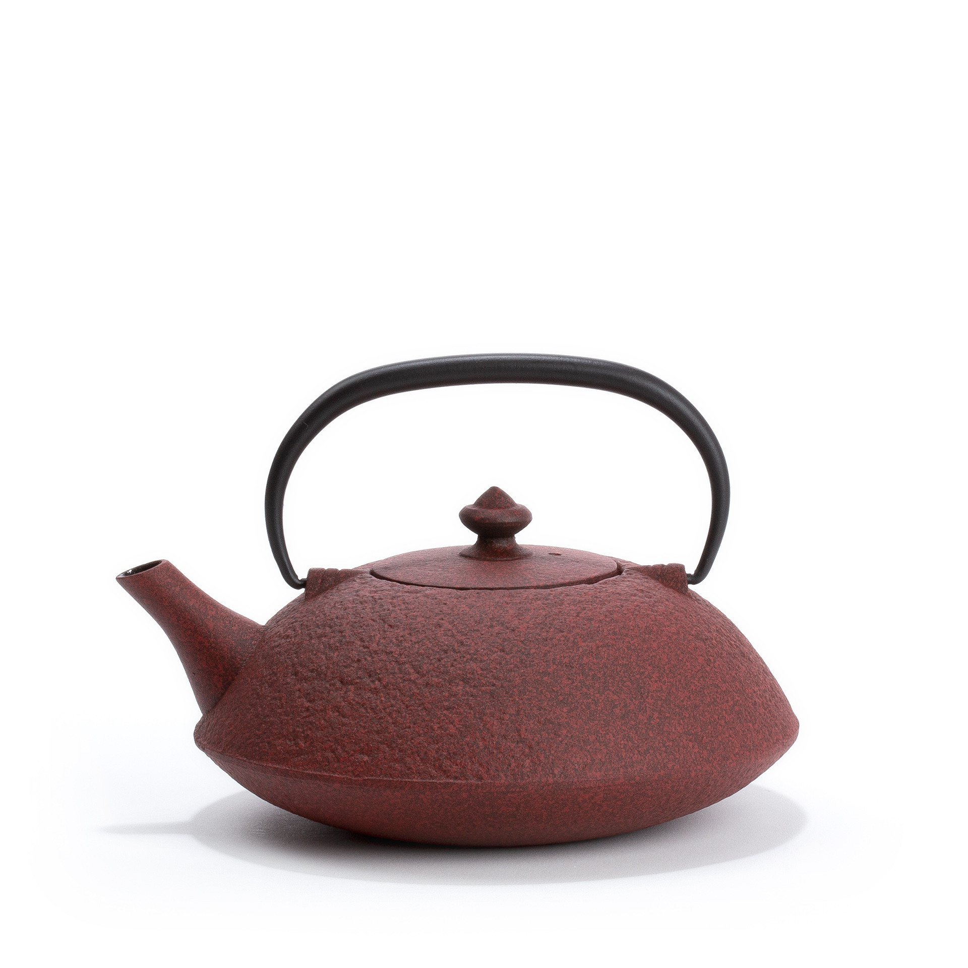 Muji Cast Iron Teapot From Japan Red