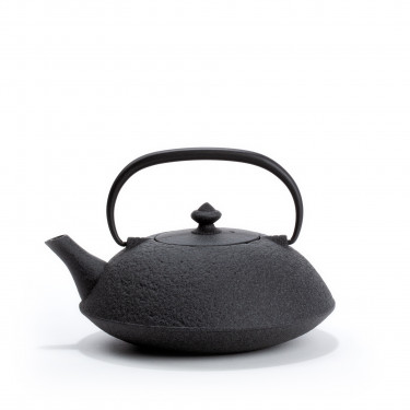 Japanese cast iron teapot - MUJI 0,65L - gray