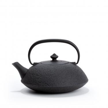 Japanese cast iron teapot - MUJI 0,65L - gray