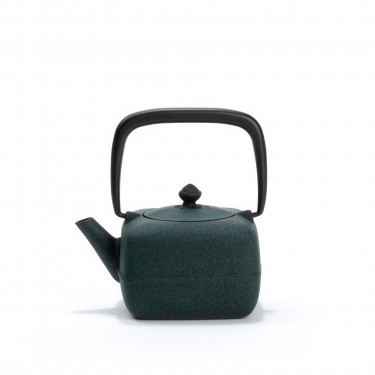 Japanese cast iron teapot - YOHO 0,4L - green