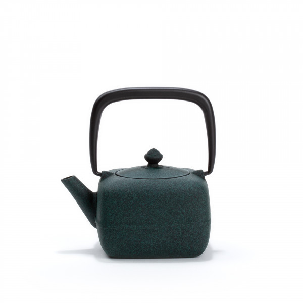 Japanese cast iron teapot - YOHO 0,4L - green