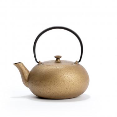 Japanese cast iron teapot - FUKU 0,55L - Gold
