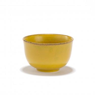KIIRO - Bol à thé porcelaine jaune