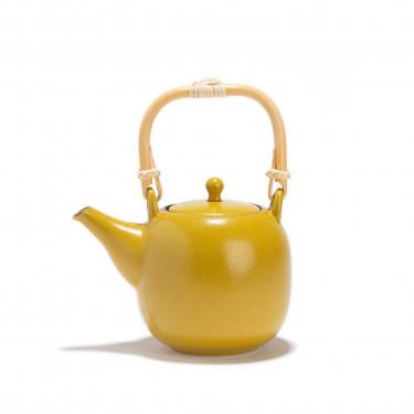 Porcelain teapot  - KIIRO - 0,55 L  - yellow