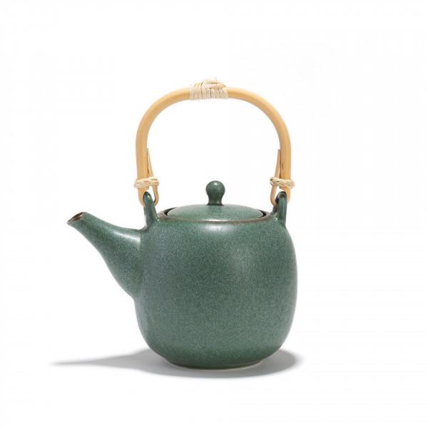Porcelain teapot  - GURIN - 0,55 L  - green