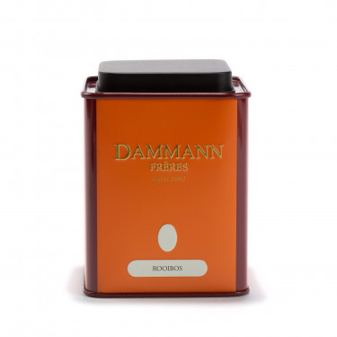 Empty Dammann Frères's canister 'Rooibos'