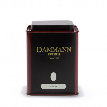 boîte vide Dammann - Thé vert
