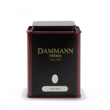Dammann Frères empty tea box - Thé Vert