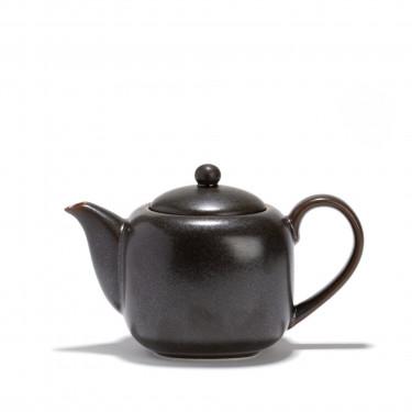 Porcelain teapot - KURO - 0,70 L - Dark grey