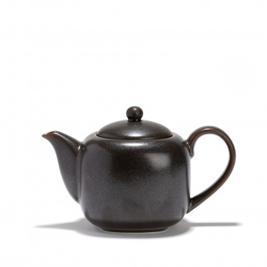 Porcelain teapot - KURO - 0,70 L - Dark grey