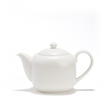Porcelain teapot - SHIRO - 0,70 L  - white